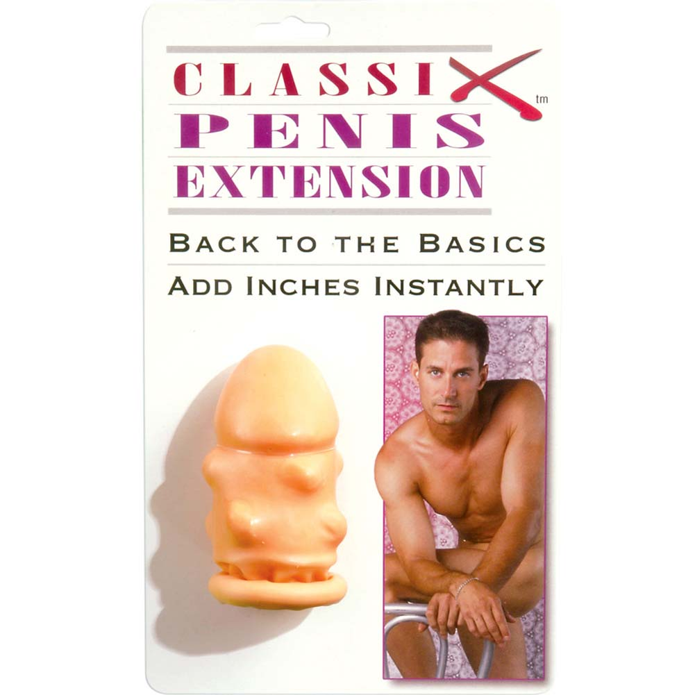 "Classix Penis Extension 3.5"" Natural - View #1"