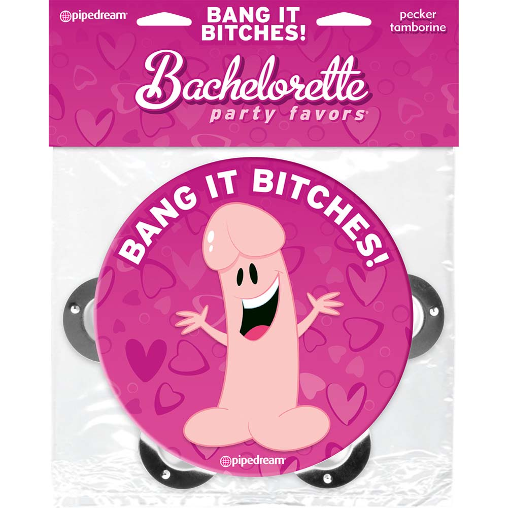 Bachelorette Party Favors Pecker Tamborine - View #4