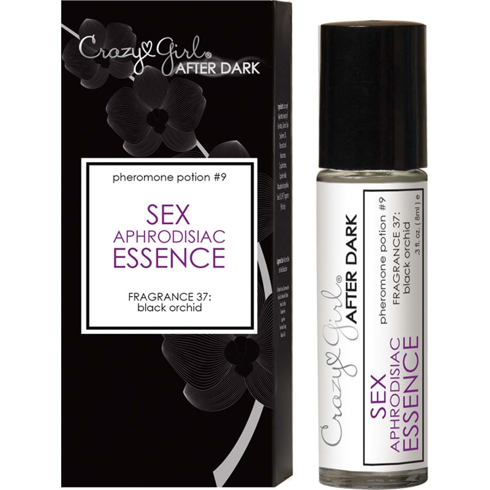 Crazy Girl After Dark Sex Aphrodisiac Essence with Pheromones Black Orchid Boxed - View #2