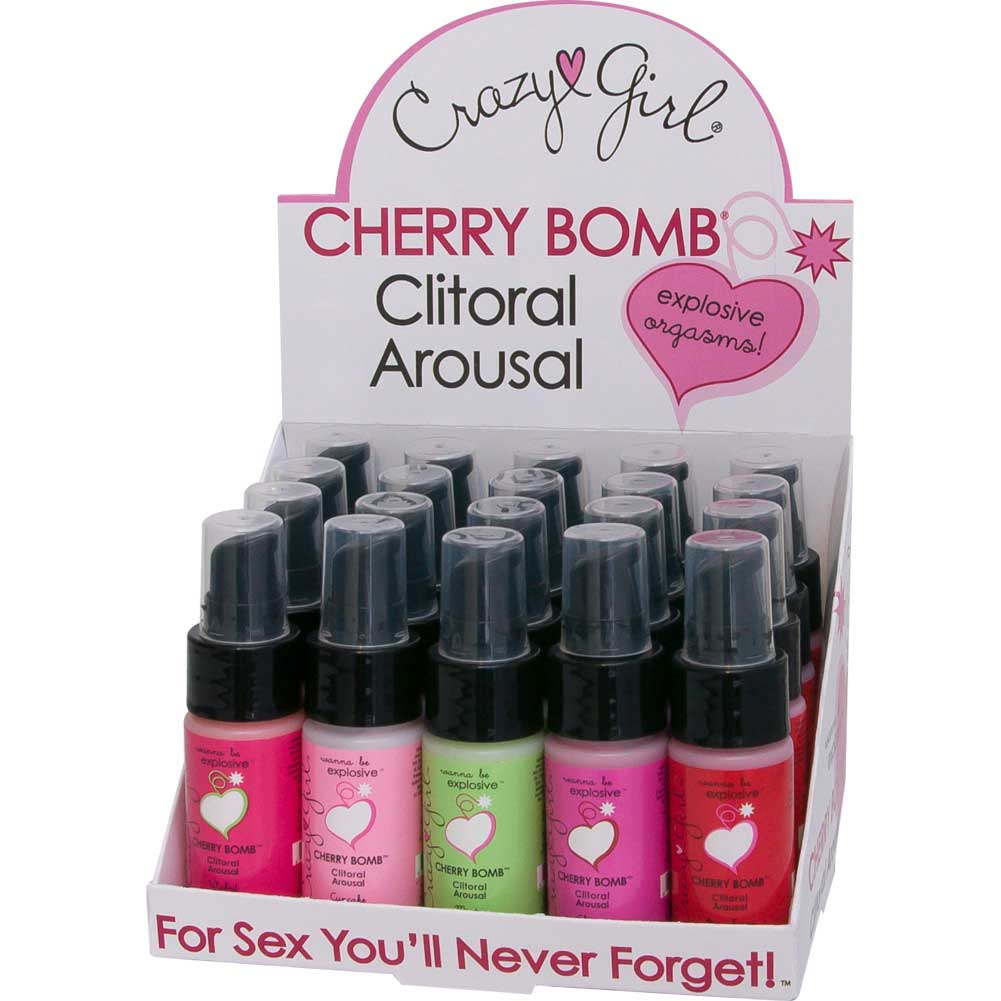 Crazy Girl Cherry Bomb 20 Pieces Display Box Assorted Flavors - View #2