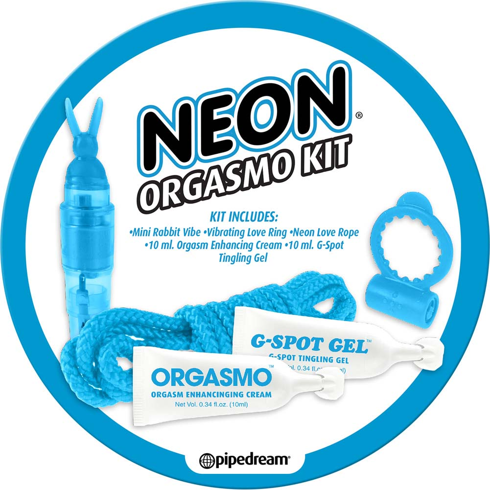 Neon Orgasmo 5 Piece Sex Kit for Lovers Blue - View #2