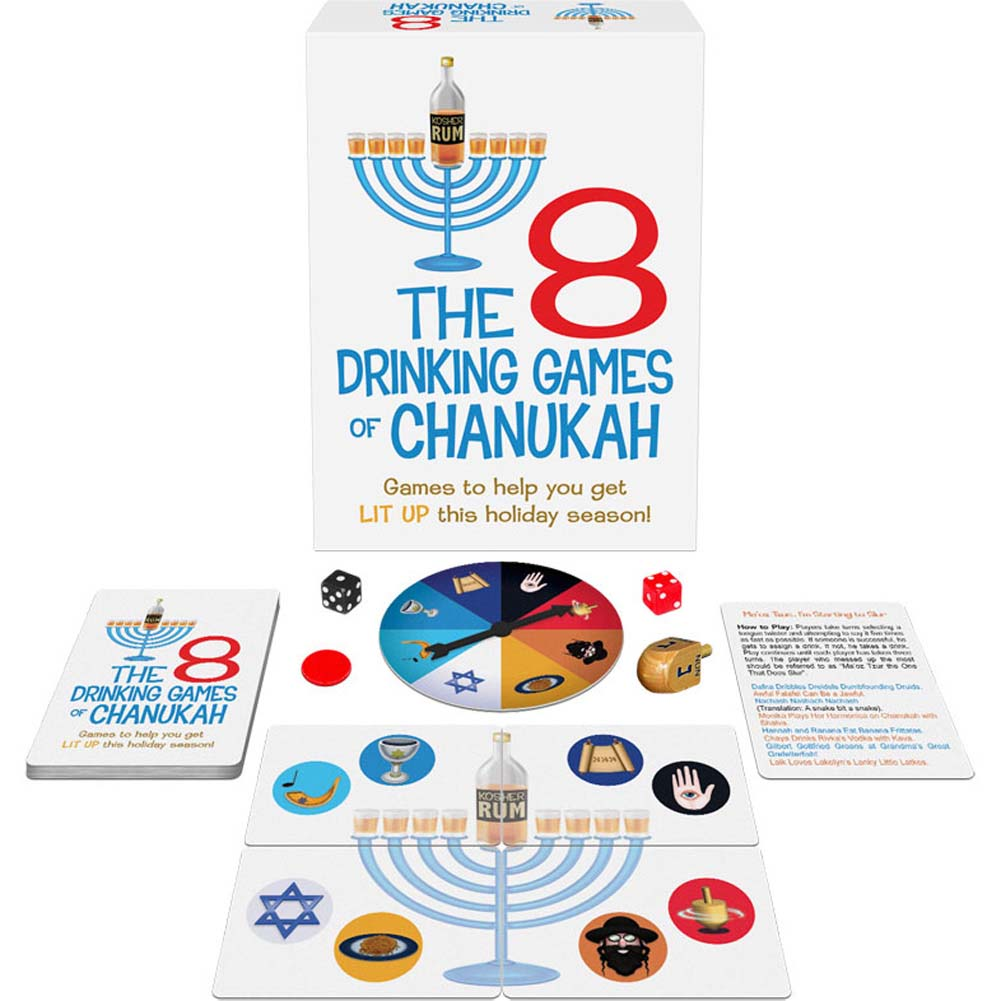 8 Drinking Games Of Chanukah - View #1