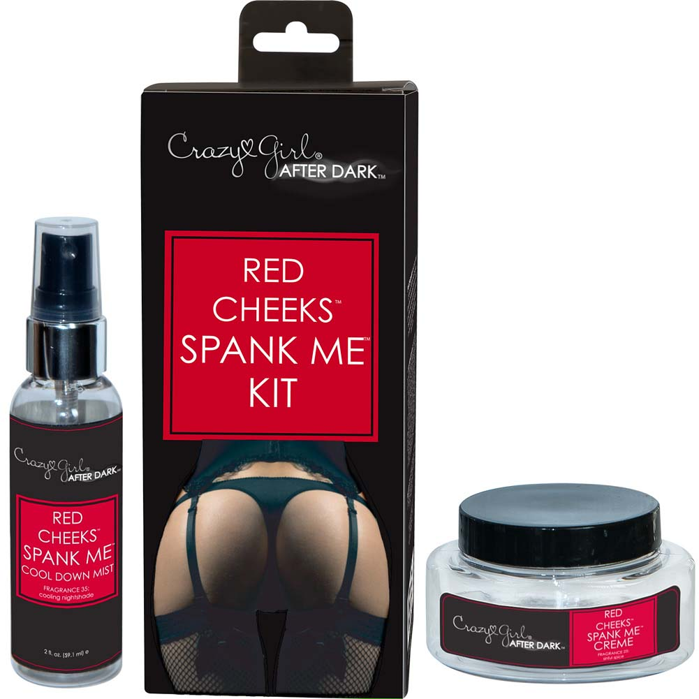 Crazy Girl After Dark Red Cheeks Spank Me Kit - View #1