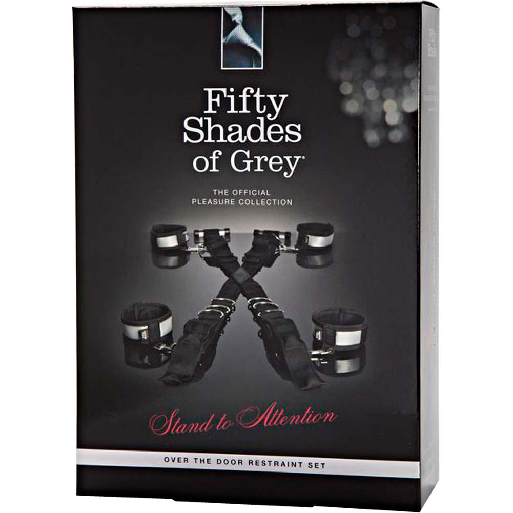 Fifty Shades of Grey Stand to Attention Over the Door Restraint Set Silver - View #4