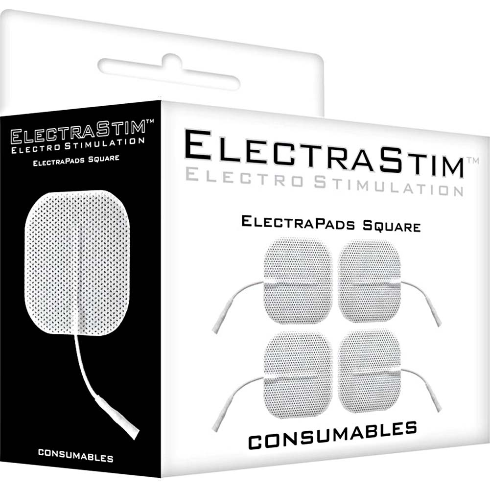 "ElectraStim ElectraPads Square 2"" Set of 4 - View #1"