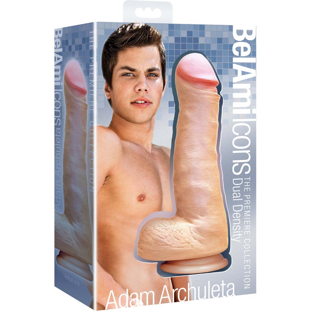 "Icon Brands BelAmi Adam Archuleta Signature Cock 8.5"" Natural Flesh - View #1"