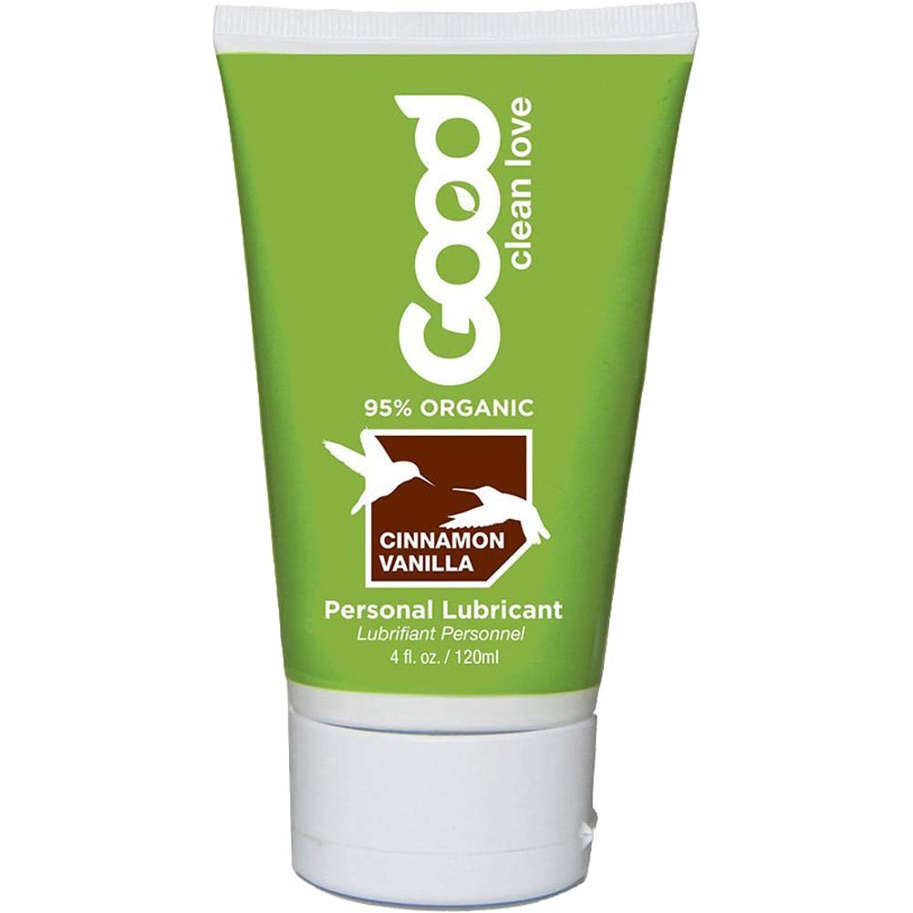 Good Clean Love Organic Intimate Lubricant 1.5 Fl.Oz 45 mL Cinnamon Vanilla - View #1