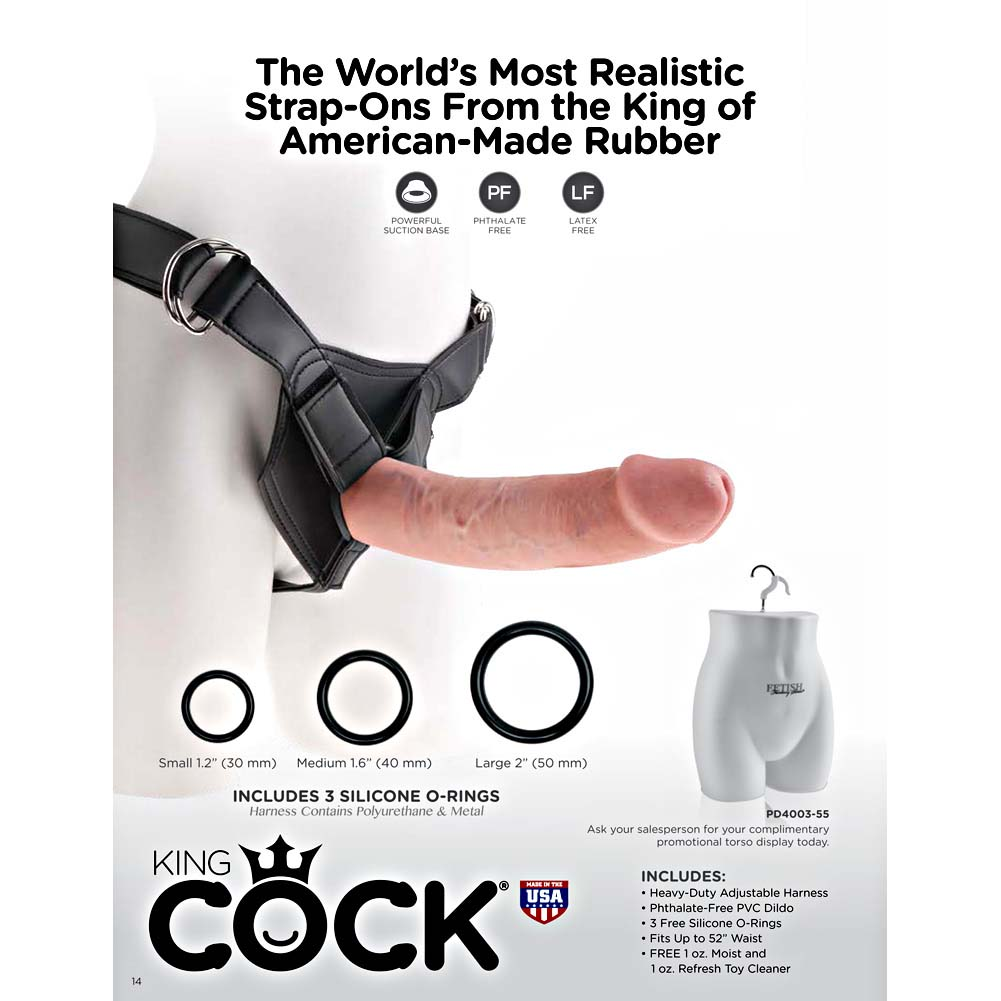 Pipedream King Cock Collection 2016 Catalog - View #4
