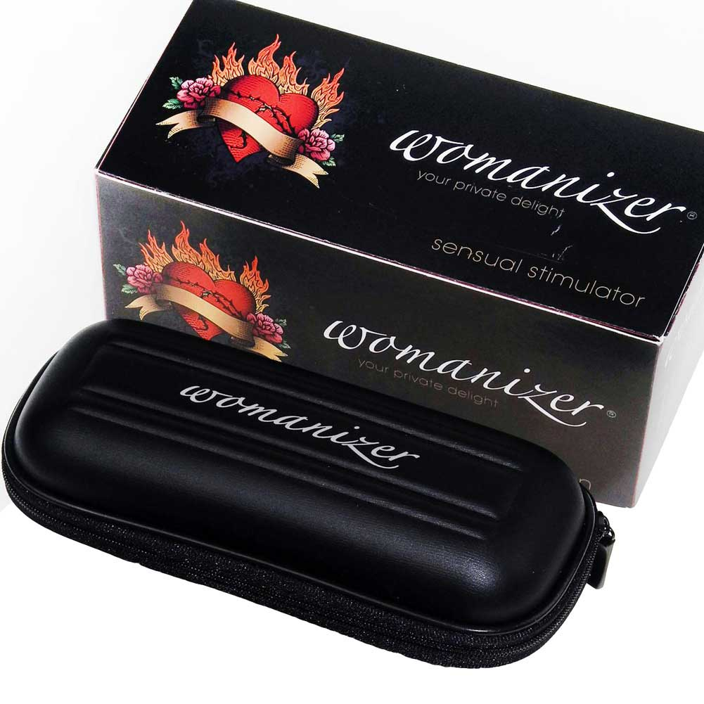 Womanizer Classic W100 USB Rechargeable Vibrator Black Tattoo Special Edition - View #4