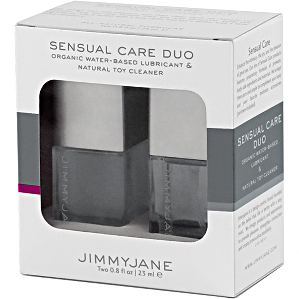 Jimmyjane Sensual Care Duo Organic Lubricant and Natural Toy Cleanser - View #1