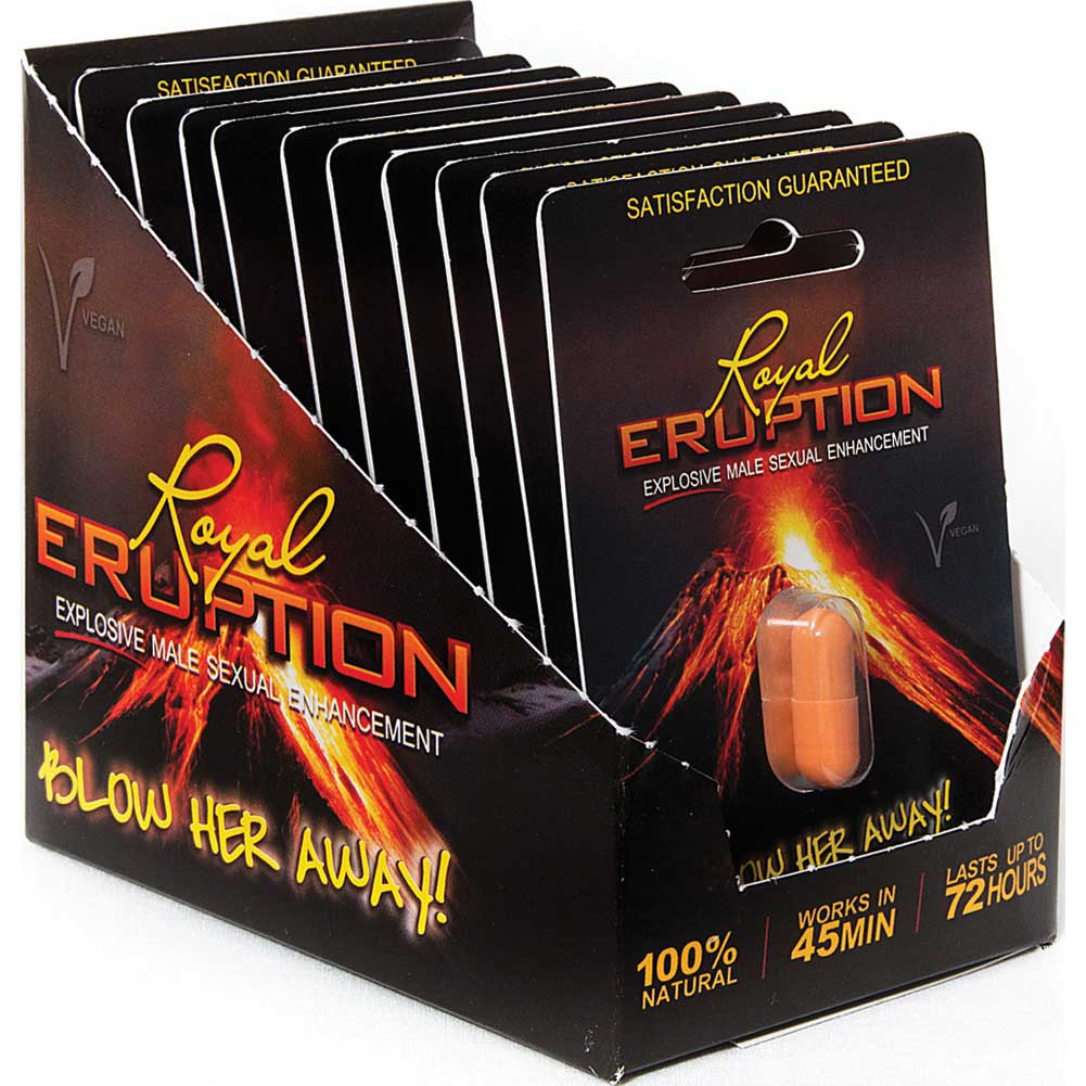 Nasstoys Royal Eruption Male Sexual Enhancement Pill 20 Pills Per Display - View #2