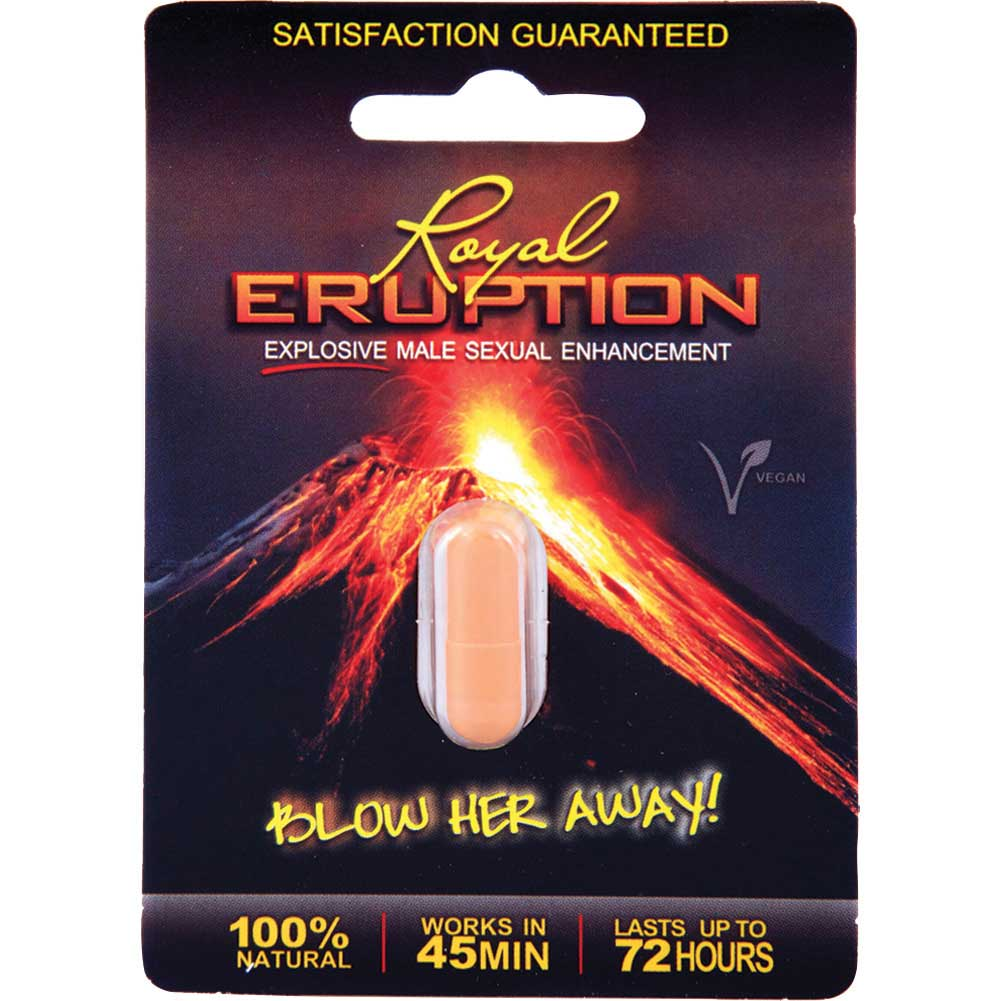 Nasstoys Royal Eruption Male Sexual Enhancement Pill 1 Count - View #1