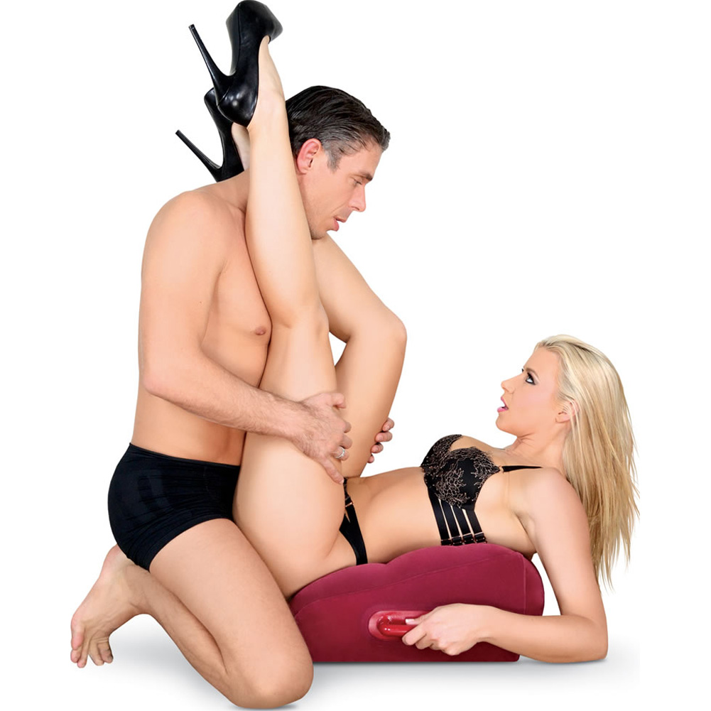 Adam and Eve Inflatable Position Pillow - View #1