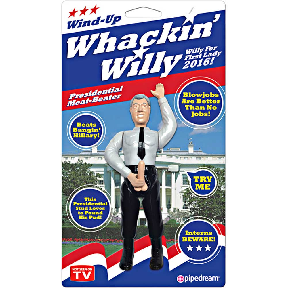 Pipedream Whackin Willy Wind Up Presidential Meat Beater - View #1