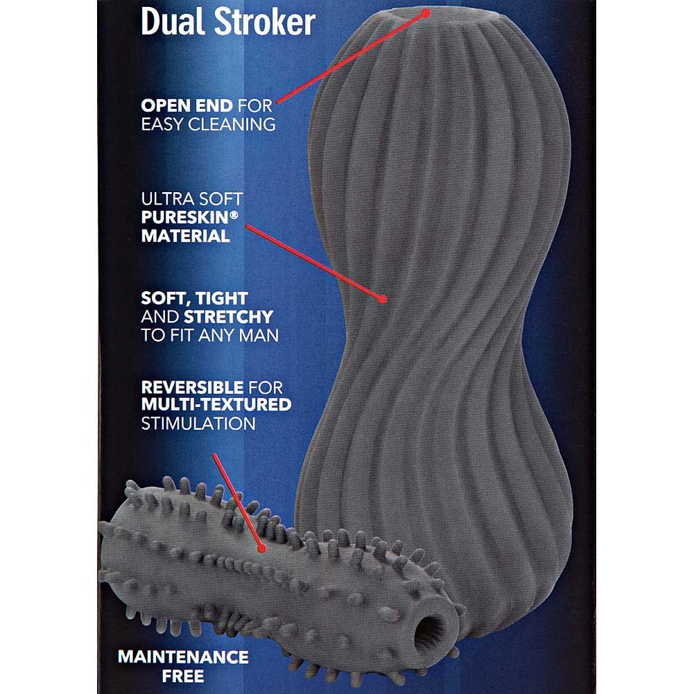 Apollo Dual Ended Reversible Stroker Grey - View #1