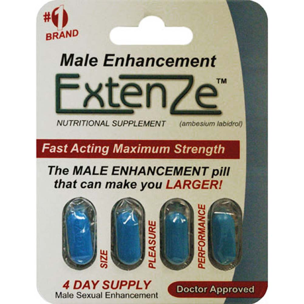 Extenze Male Enhancement 4 Day Supply - View #1