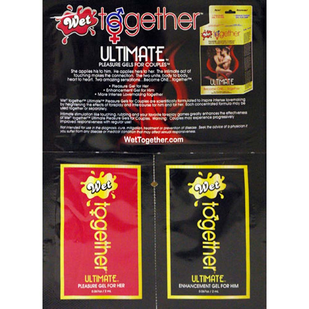 Wet Together Ultimate Gel Sample Set for Couples - View #1