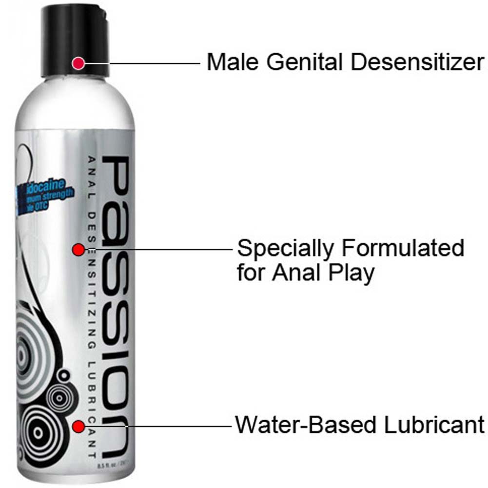 Passion Max Strength Anal Desensitizing Lubricant 8.25 Fl. Oz. - View #1